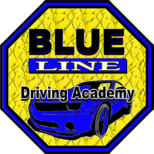 Blue Line Driving Academy Logo